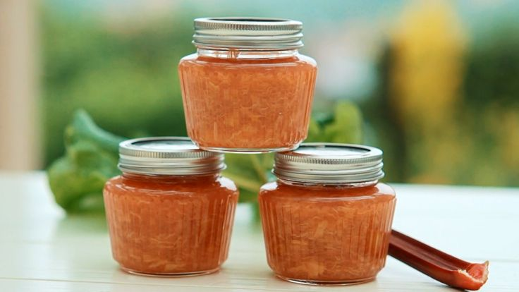 Rebarborový džem se zázvorem — Recepty — Kouzelné bylinky — Česká televize