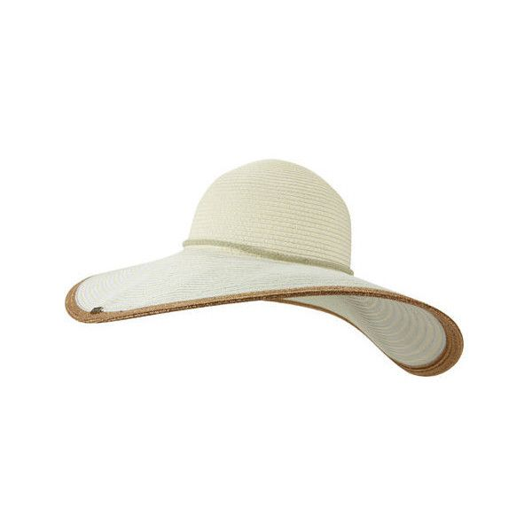 Women's Keds Floppy Gold Brim ($30) ❤ liked on Polyvore featuring accessories, hats, floppy brim hat, gold hat, brimmed hat, floppy sunhat and sun hat