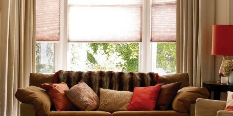 The most impressive window in the house deserves fabulous curtains, blinds and shutters.