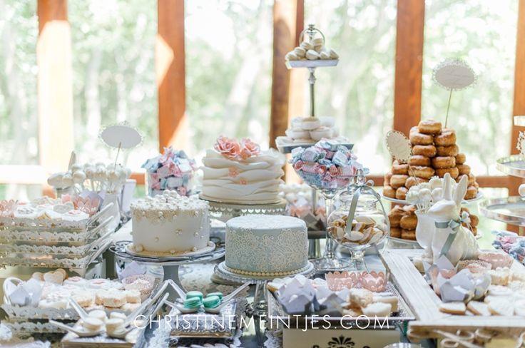 Dessert Table, wedding inspiration. Photo: Christine Meintjes