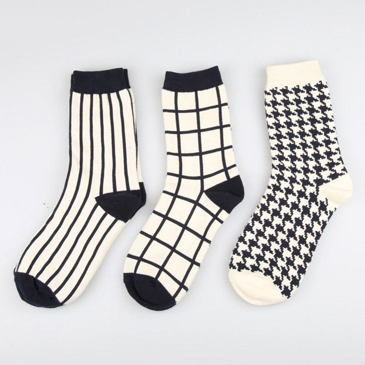 Classic Black And White Sock Set - Sock Season
