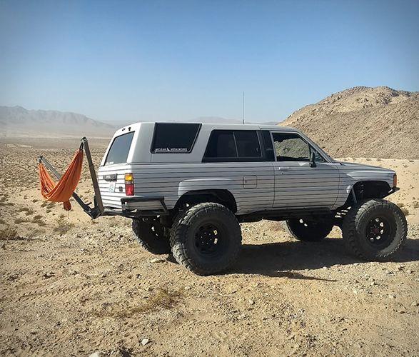 Hammock Hitch Mount Camping Trailer Diy Renault Master Toyota