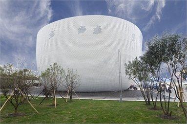 """The Finland Pavilion """"Kirnu"""" - Padiglione della Finlandia per Shanghai EXPO 2010  - Shanghai , China - 2010"""