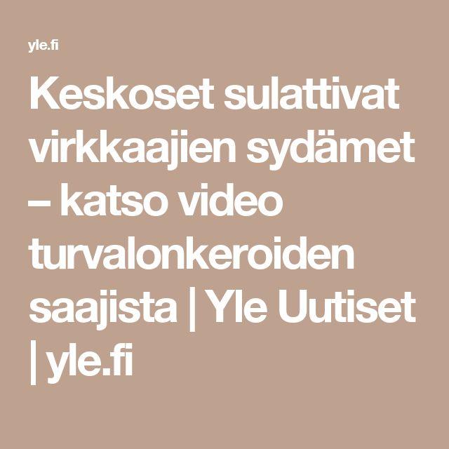 Keskoset sulattivat virkkaajien sydämet – katso video turvalonkeroiden saajista | Yle Uutiset | yle.fi