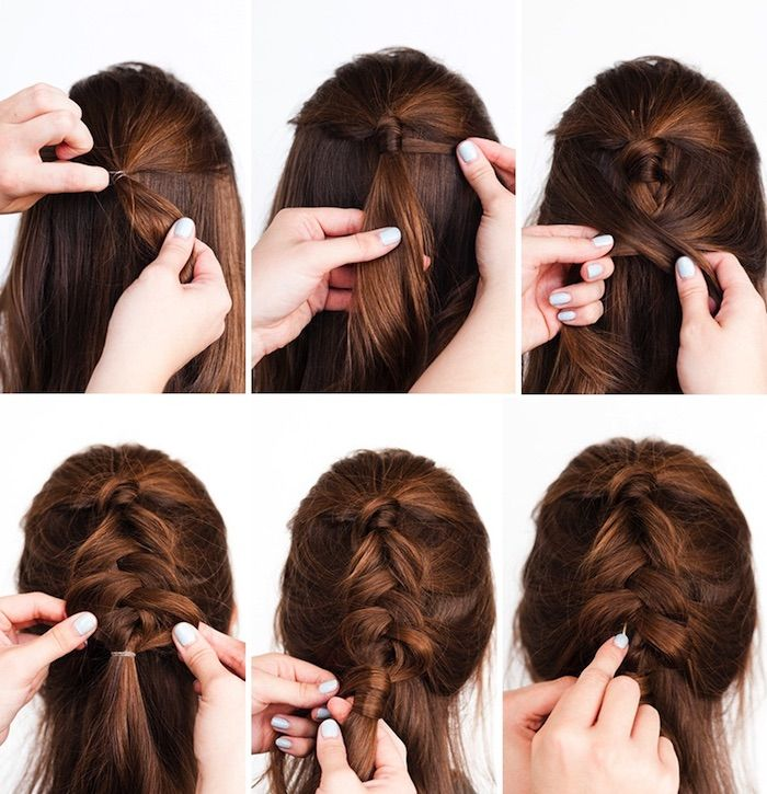 1001 Inspirierende Ideen Fur Einfache Flechtfrisuren Zum Selbermachen Geflochtene Frisuren Flechtfrisuren Frisuren Kurze Haare Flechten