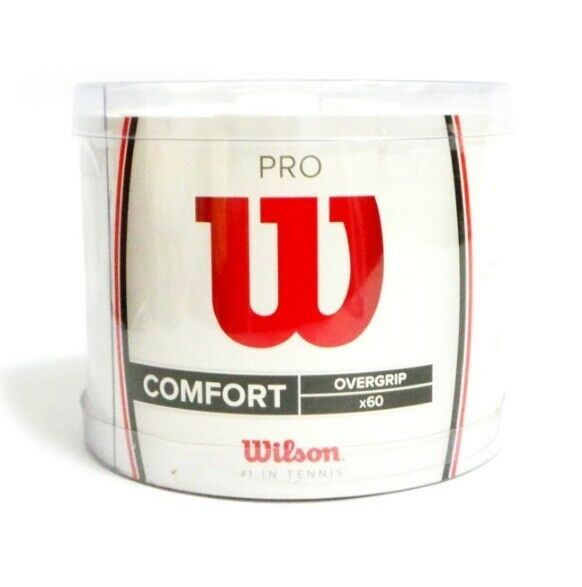 Advertisement Ebay Wilson Wrz4024wh Sporting Goods Tennis Pro Overgrip 60 Pack White Comfort Racque Fun Sports Tennis Ebay
