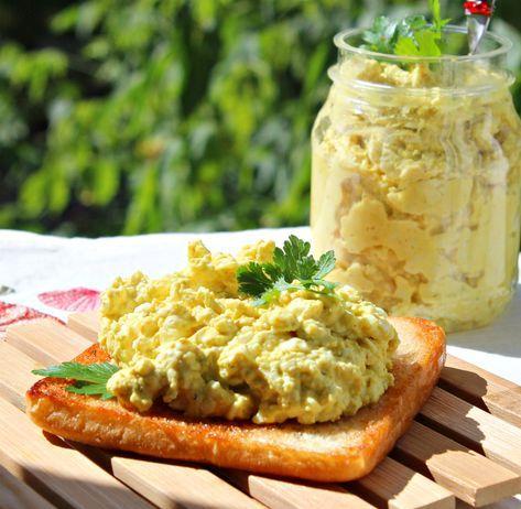 Вкуснейшая яичная паста-намазка на пикник, на дачу и просто так