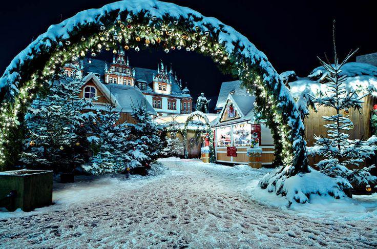 Koburg, Germany Рождественские ярмарки / Путешествия / Моя Планета