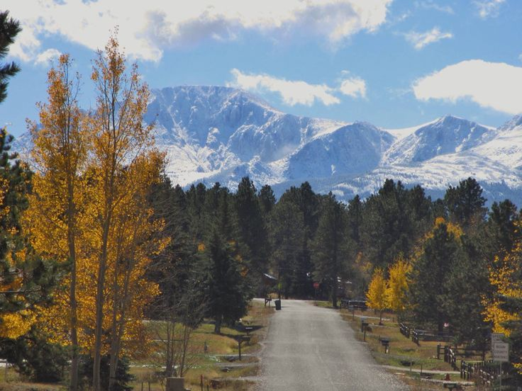 """Taken from Woodland Park, CO  Gorgeous..... known as 'The City Above the Clouds"""" at 8, 468 ft., surrounded by the 1 million acre Pike National Forest."""