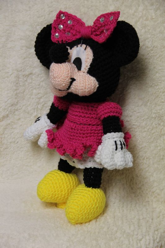 Free Crochet Patterns For Baby Mickey Mouse : 45 best images about myszka miki on Pinterest