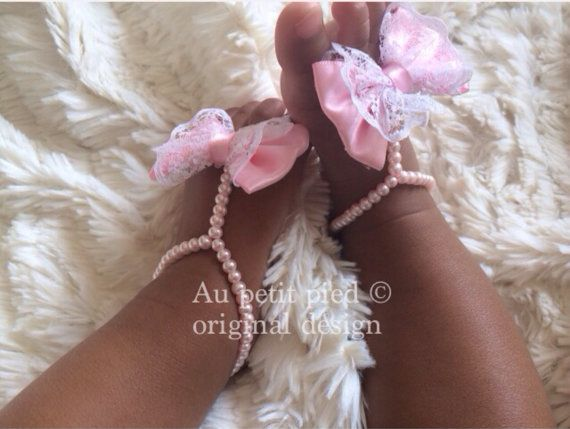Baby barefoot sandalstoddler barefoot by Aupetitpied on Etsy
