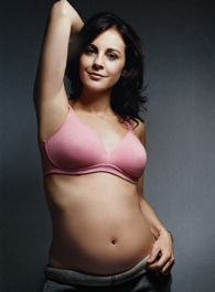 Lovable Maternity Bra. A great basic available in white for only $39.95 at Maternity Revolution.