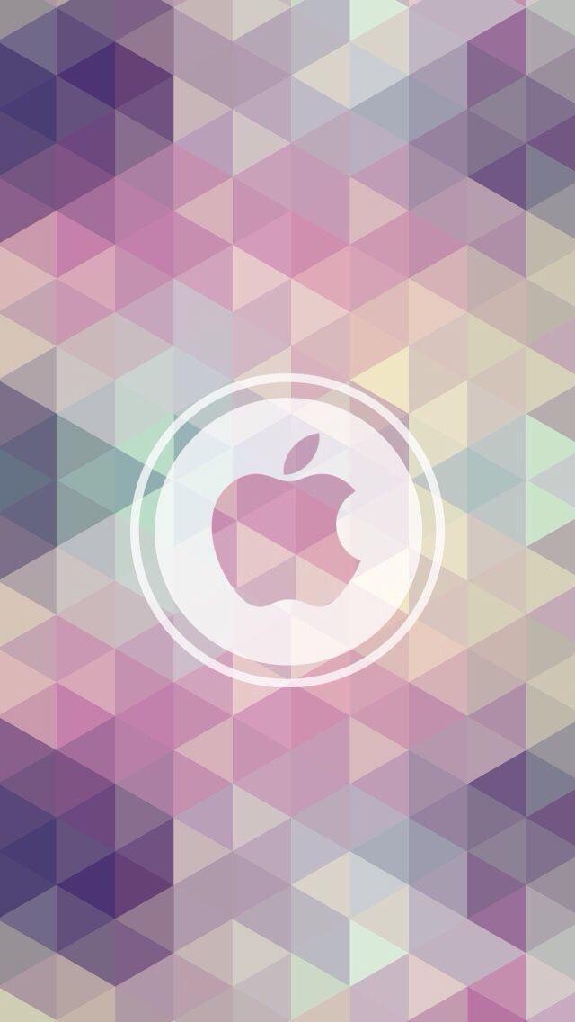 Обои iPhone wallpaper Apple logo