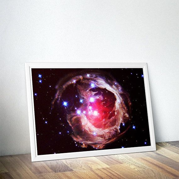 Monocerotis Space Poster Science Gift Geek Gifts For Kids Etsy Space Poster Science Gifts Geek Gifts