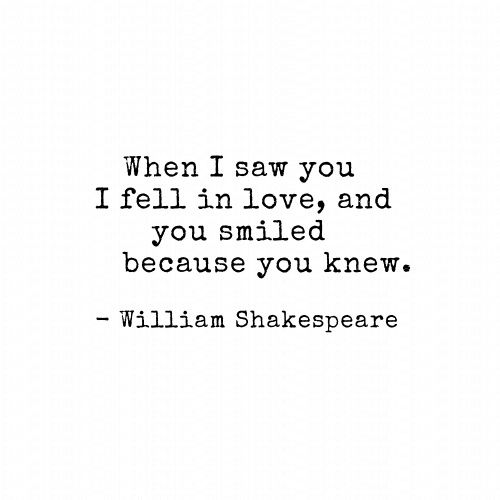 #love #smile #shakespeare #quotes