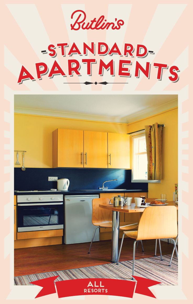 Standard Apartments At All Our Resorts Butlin S