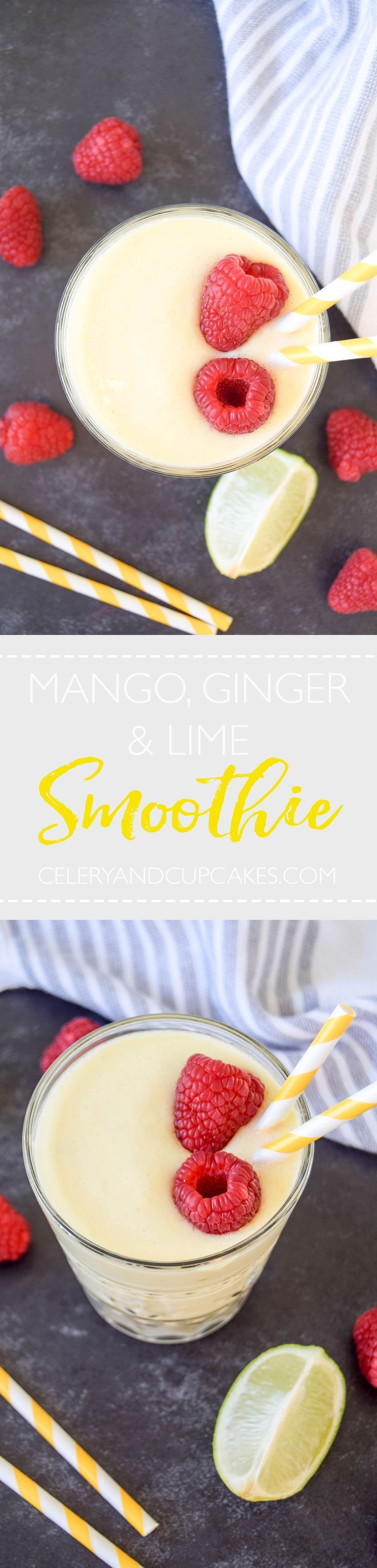 A sunshine smoothie that will brighten up any dull day and make you feel fantastic!
