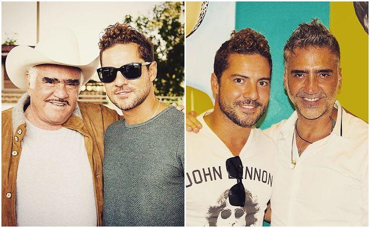 """El cantante español visitó el rancho de """"Chente"""" y también convivió con """"El Potrillo"""""""