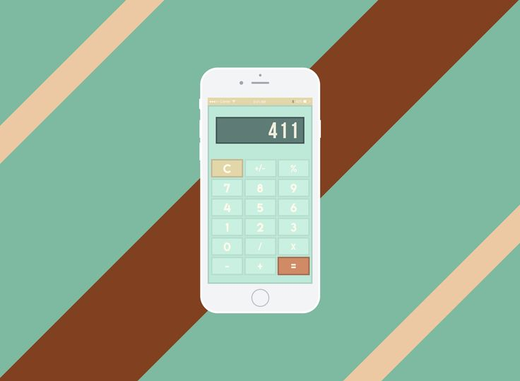 100 Days of UI Design Daily Challenge - Day 004 Calculator