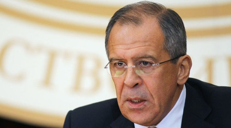 Russia made proposals for Syria ceasefire, waiting for reaction from US - Lavrov  http://pronewsonline.com  Russian Foreign Minister Sergey Lavrov.