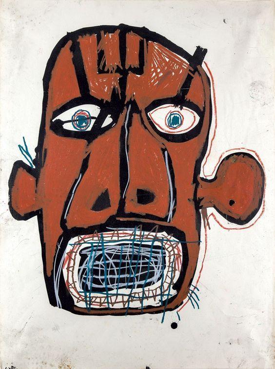 "curiousmiscellanies: ""Jean-Michel Basquiat """