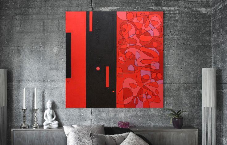 """""""Notas em Preto e vermelho. Art by Linco7n."""