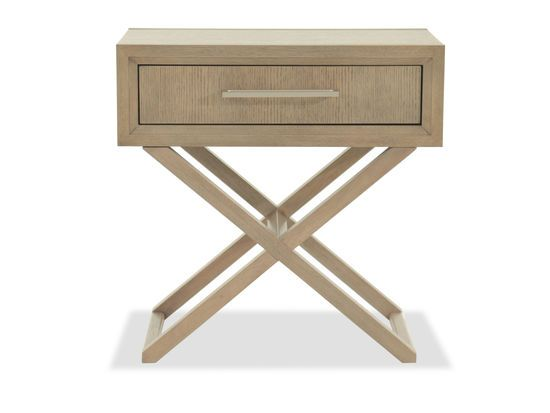Legacy Highline One-Drawer Brown Nightstand $453 mb