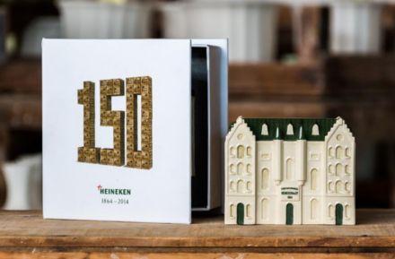 86.000 miniatuurbouwerijen Heineken 150 jaar