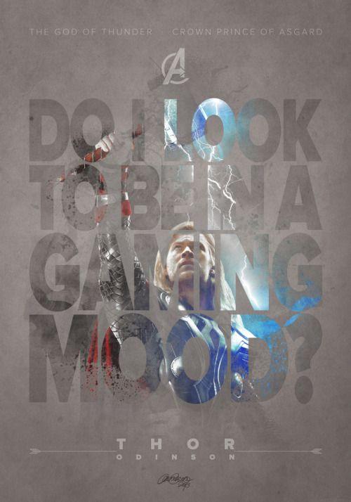 Geek Art Gallery: Posters: Avengers Characters