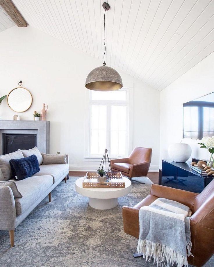 53 Comfy Modern Farmhouse Apartment Living Room Decorating Ideas Apartmen Farmhouse Living Room Furniture Farm House Living Room Apartment Living Room Design