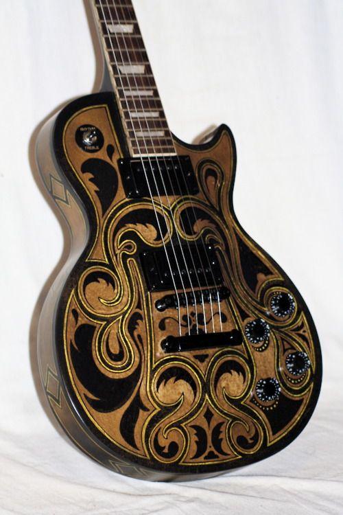 Custom Finish Gibson Les Paul.