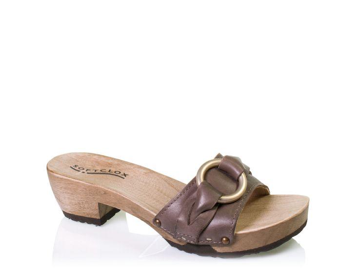 SOFTCLOX Jara Gauchonappa moro #summershoes #springshoes #softclox #soft # clogs #moro