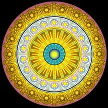 mandala  Sunshine for our hearts.  Love and Light