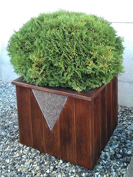 Декоративные уличные контейнеры для растений, цветочные горшки для сада