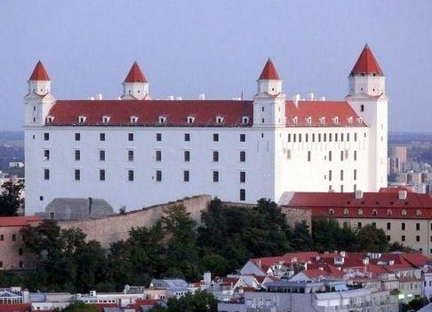Slovakia, Bratislava - Castle after Renovation