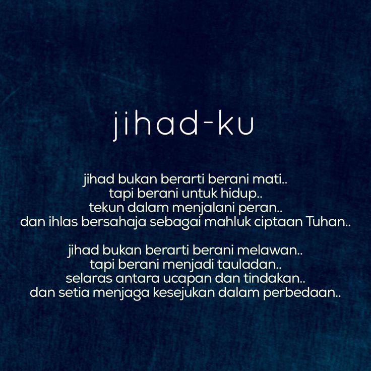 puisi Jihad-ku