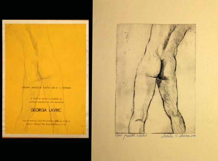 1.desen si gravura dupa desen.nud barbat