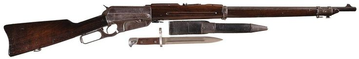 Lock, Stock, and History — Winchester Model 1895 lever action military model...