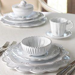 Complete Vietri dinnerware & accessories line #mix_and_match_dinnerware #italian_dinnerware #italian_pottery