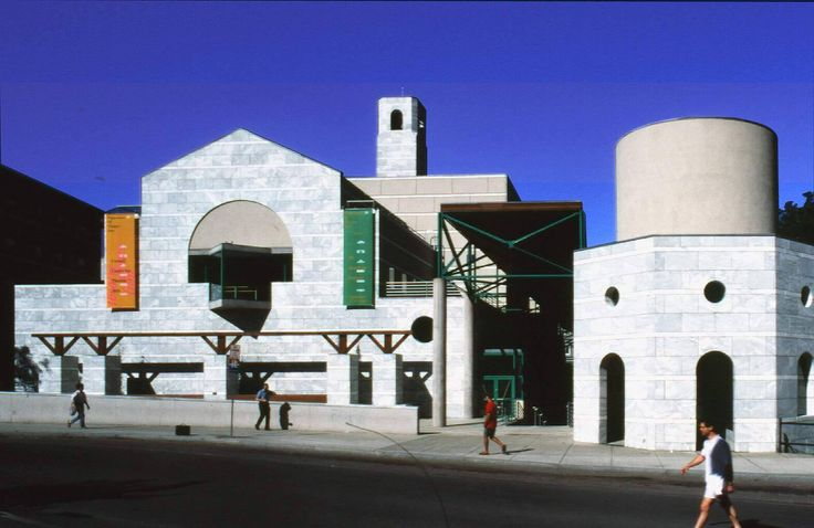 Schwartz Center for Performing Arts, Cornell University, Ithaca, NY. James Stirling and Michael Wilford, 1983-88.