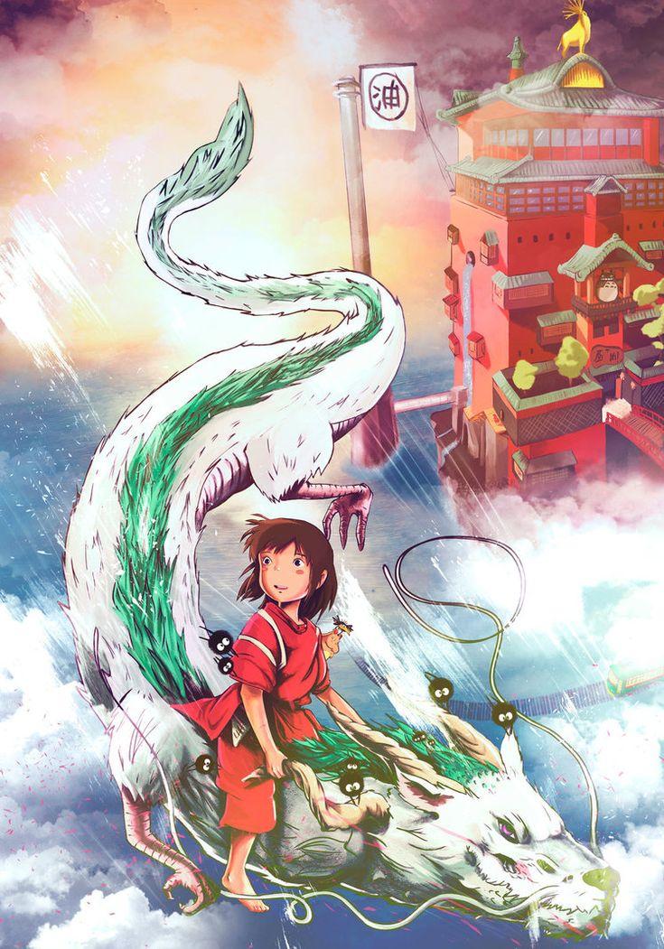 Spirited Away El Viaje De Chihiro By Antilef Deviantart Com On Deviantart Spirited Away Studio Ghibli Anime Films