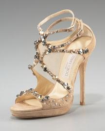 love!: Fashion Shoes, Design Shoes, Style, Su Sandals, Choo Crystals Sets, Jimmy Choo, Crystals Sets Suede, Jimmychoo, Suede Sandals