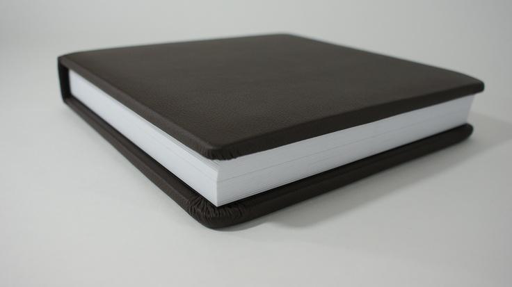 Leather 10x10 Flush Mount Album by My Bridal Pix.  DIY wedding albums