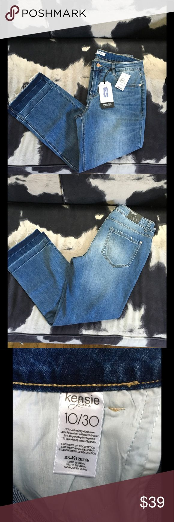 Kensie Jeans NWT straight crop jeans. Wear these with boots and or heels. No trades. Open to reasonable offers Kensie Jeans