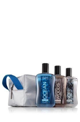 Bath & Body Works® Signature Collection Men's Shower Gel with Noir, Ocean and Twilight Woods by Bath & Body Works. $25.00