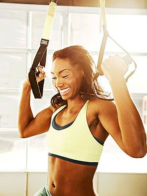 Turn up the toning power with TRX suspension straps and this total-body workout
