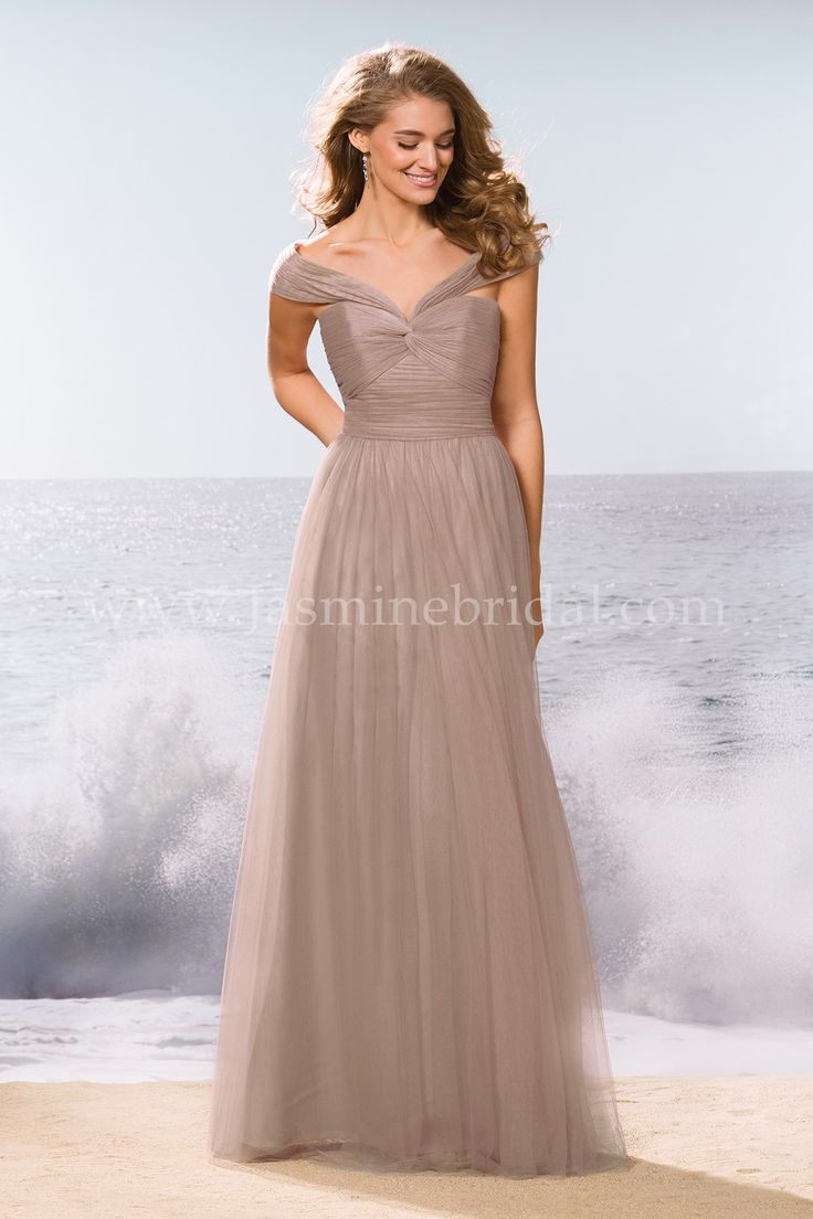 104 best bridesmaids images on pinterest bridesmaids dress a youthful soft tulle dress that will have your bridesmaids projecting elegance this bridesmaid dress features a stylish portrait neckline with beaded ombrellifo Gallery