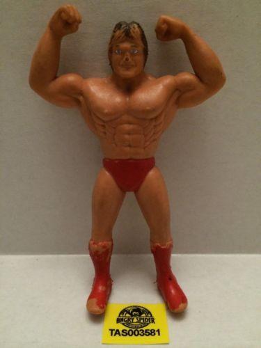 (TAS003581) - WWE WWF WCW Wrestling Bendies Action Figure - Paul Orndorff