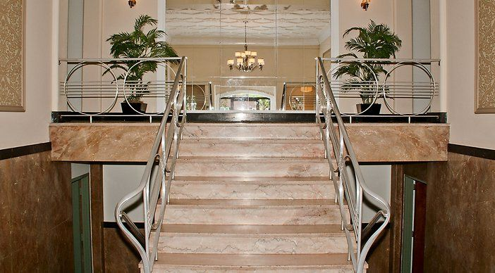 Welcoming Lobby of 1401 Sheridan   Apartments in Northwest Washington DC   WC Smith Apartments   Brightwood Rentals