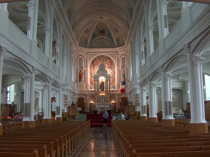 Inside St.Peter's Cheticamp